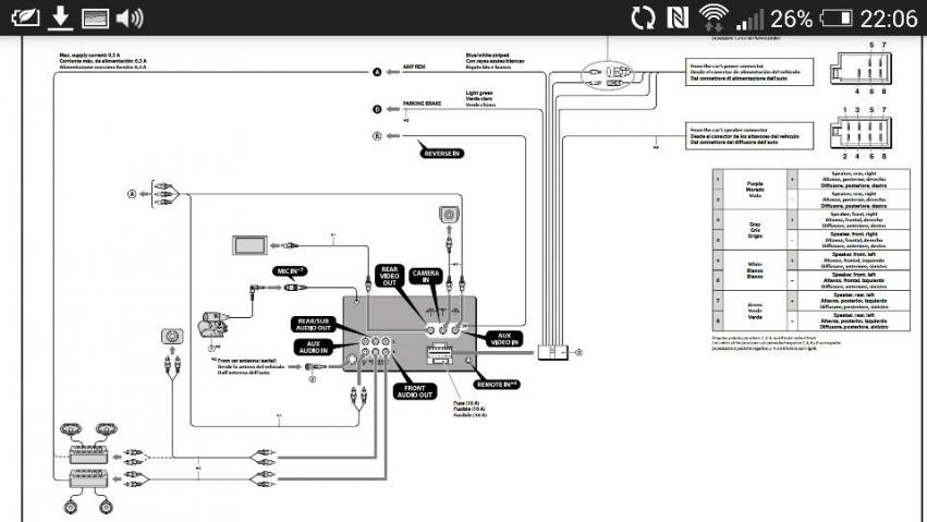 Sony Xav 64bt Wiring Diagram