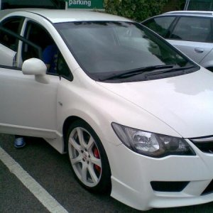 Uncle Te's Civic FD2